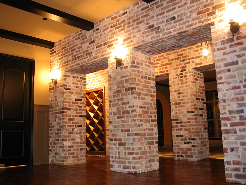 Using Brick Veneer For Interior