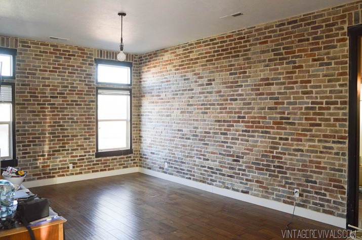 Thin brick veneer calgary stone concept for Interior brick veneer