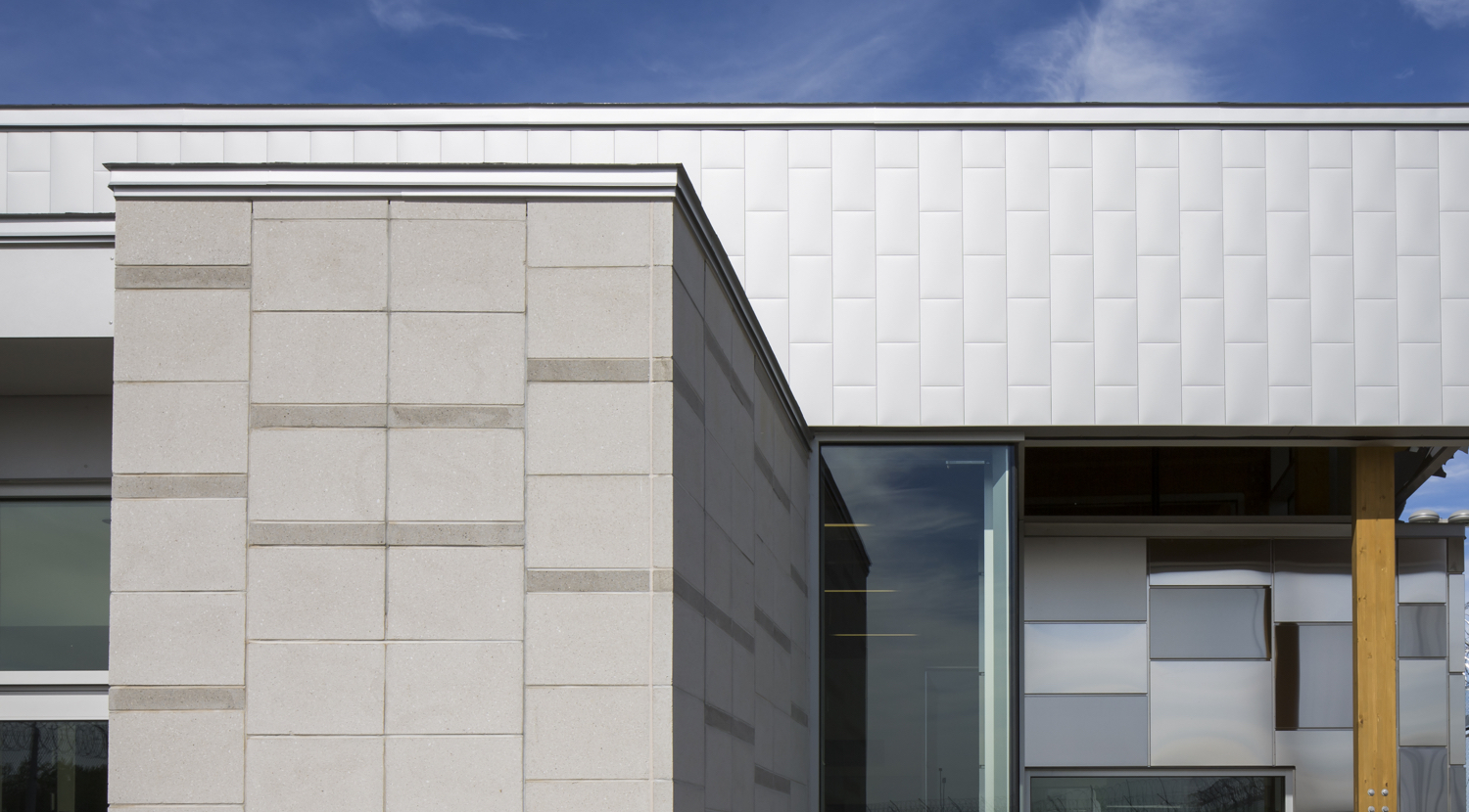 Architectural Siding Products : Architectural metal siding stone concept